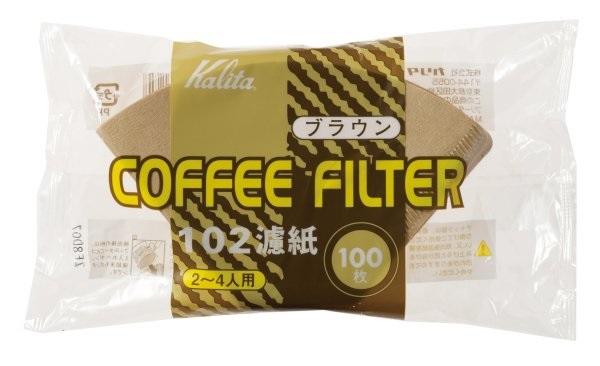 日本Kalita102無漂白濾紙2~4